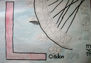 Line Drawing Ks2 : Stanway primary school ks london landmarks